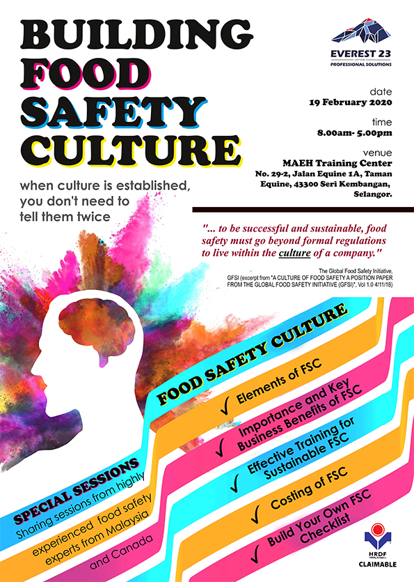 Building Food Safety Culture Seminar